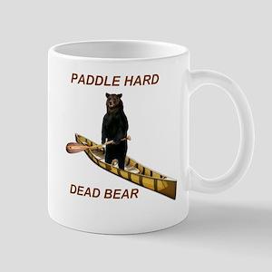 Paddle Hard Bear Mug
