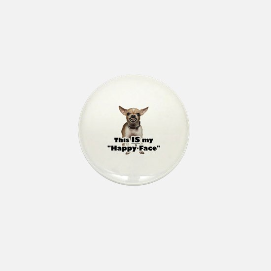 Cute Chihuahuas Mini Button
