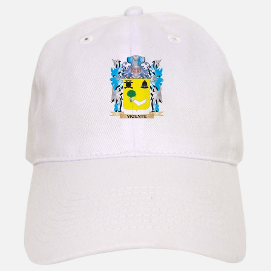 Vicente Coat of Arms - Family Crest Baseball Baseball Cap