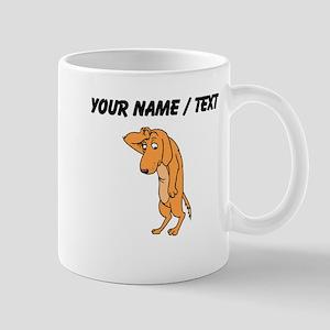 Custom Dramatic Dog Mugs