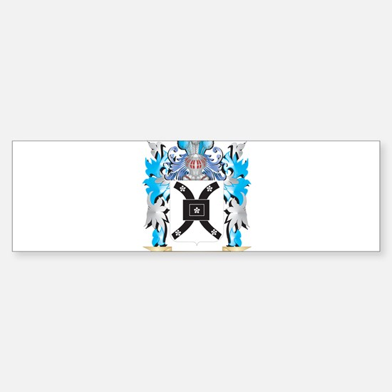 Vickers Coat of Arms - Family Crest Bumper Bumper Bumper Sticker