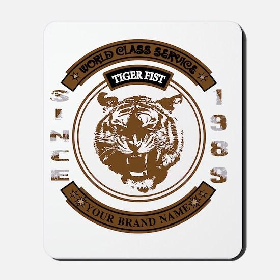Tiger Fist Mousepad