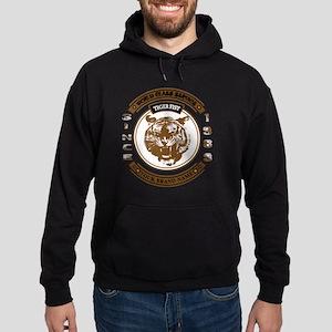 Tiger Fist Hoodie (dark)