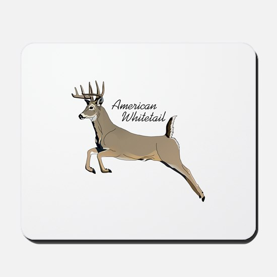 AMERICAN WHIITETAIL Mousepad