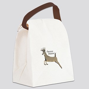 AMERICAN WHIITETAIL Canvas Lunch Bag