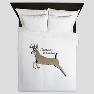 AMERICAN WHIITETAIL Queen Duvet