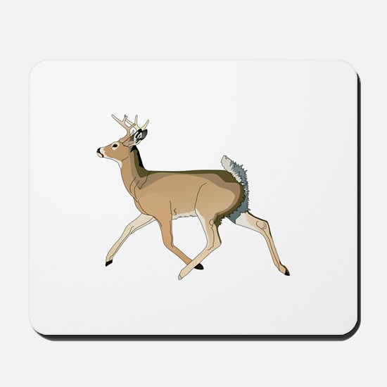 RUNNING DEER Mousepad
