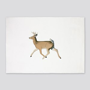 RUNNING DEER 5'x7'Area Rug