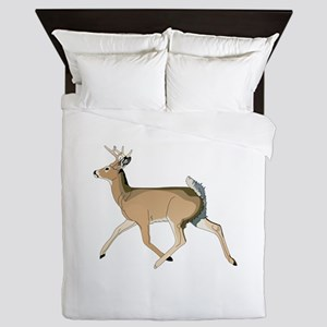 RUNNING DEER Queen Duvet