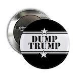 """100 Dump Trump Buttons 2.25"""" Button (100 Pack"""