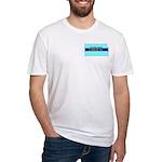 True Blue Kansas Liberal Fitted T-Shirt