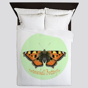Tortoiseshell Butterfly Watercolour Painting Queen