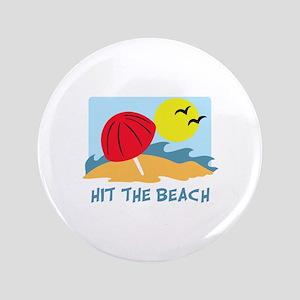 """HIT THE BEACH 3.5"""" Button"""