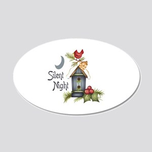 SILENT NIGHT Wall Decal