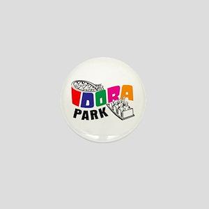Idora Park Rollercoaster Mini Button