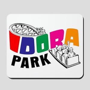 Idora Park Rollercoaster Mousepad