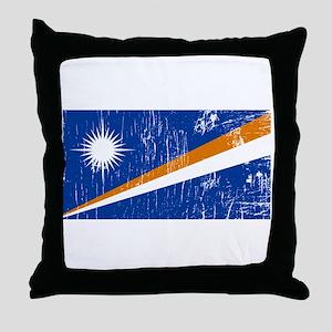 Vintage Marshall Islands Throw Pillow