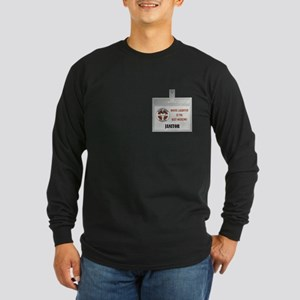 JANITOR Long Sleeve Dark T-Shirt