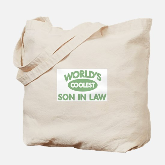 Coolest SON IN LAW Tote Bag
