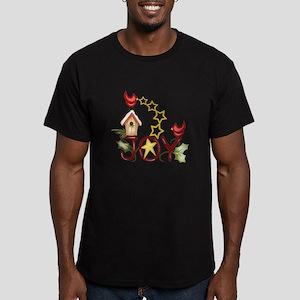 CARDINAL WITH STARS T-Shirt