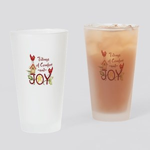 TIDINGS OF COMFORT Drinking Glass