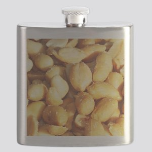 food, many small salted peanuts Flask