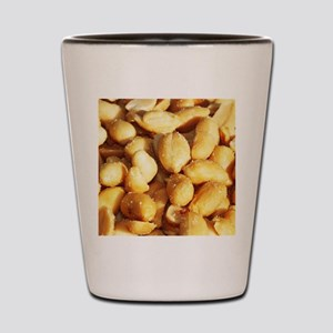 food, many small salted peanuts Shot Glass