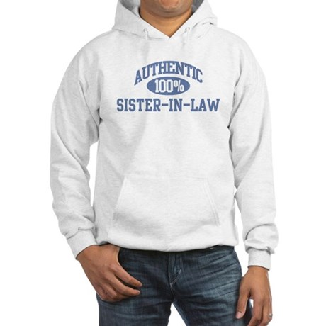 Authentic Sister-In-Law Hooded Sweatshirt