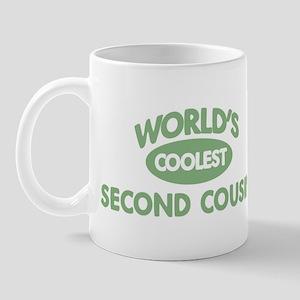 Coolest SECOND COUSIN Mug