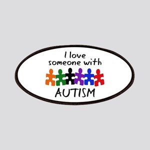 I LOVE SOMEONE WITH AUTISM Patch