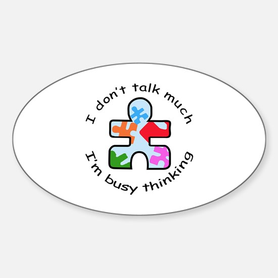 BUSY THINKING Decal