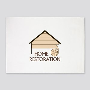 HOME RESTORATION 5'x7'Area Rug