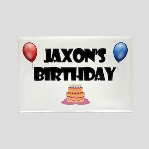 Jaxon's Birthday Rectangle Magnet