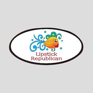 LIPSTICK REPUBLICAN Patch