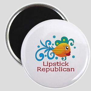 LIPSTICK REPUBLICAN Magnets