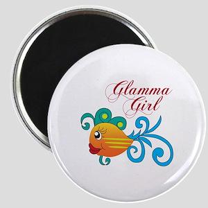 GLAMMA GIRL FISH Magnets