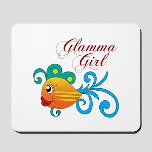 GLAMMA GIRL FISH Mousepad