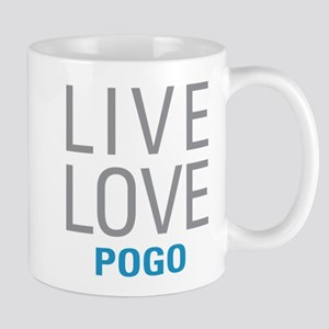 Live Love Pogo Mugs
