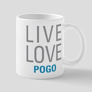 Live Love Pogo Mugs