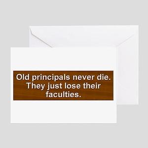 Old Principals 2 Greeting Card