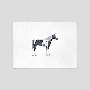 PAINT HORSE 5'x7'Area Rug