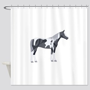 PAINT HORSE Shower Curtain