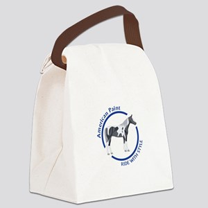 AMERICAN PAINT HORSE Canvas Lunch Bag