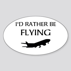 Rather Be Flying1 Sticker
