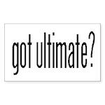 Got Ultimate? Rectangle Sticker