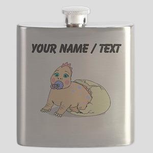 Custom Dinosaur Hatching Flask