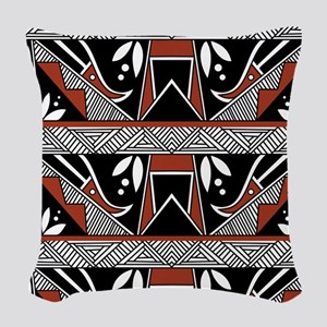 PUEBLO BEAUTY Woven Throw Pillow