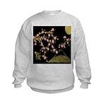 Pink Sakura Gold Black Sweatshirt