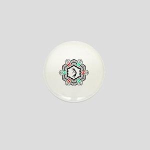 Kokopelli God of mischief  Mini Button
