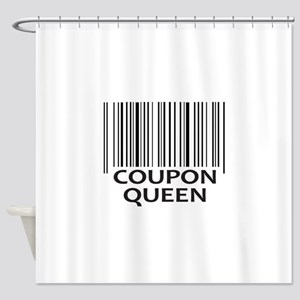 COUPON QUEEN Shower Curtain